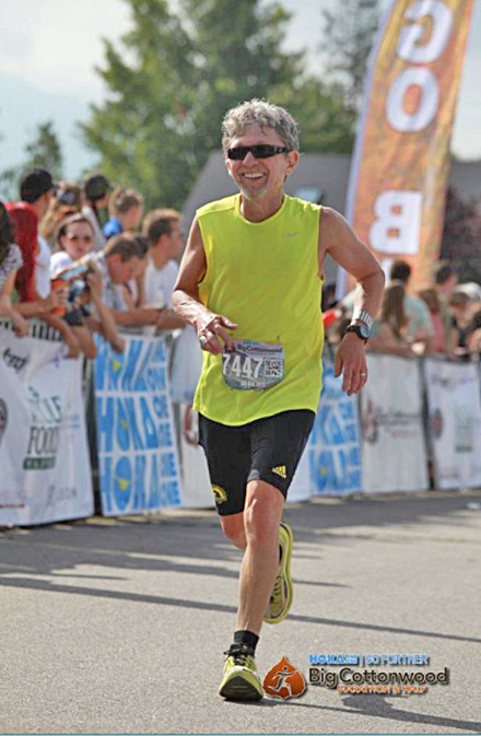 Finishing Big Cottonwood Half Marathon